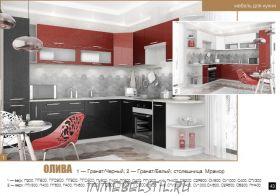 Кухня Олива-43 МДФ