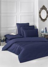 Постельное белье Сатин LOFT евро (т.синий) Арт.2986-5
