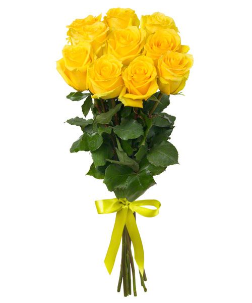 Букет из желтых роз «Летний полдень»