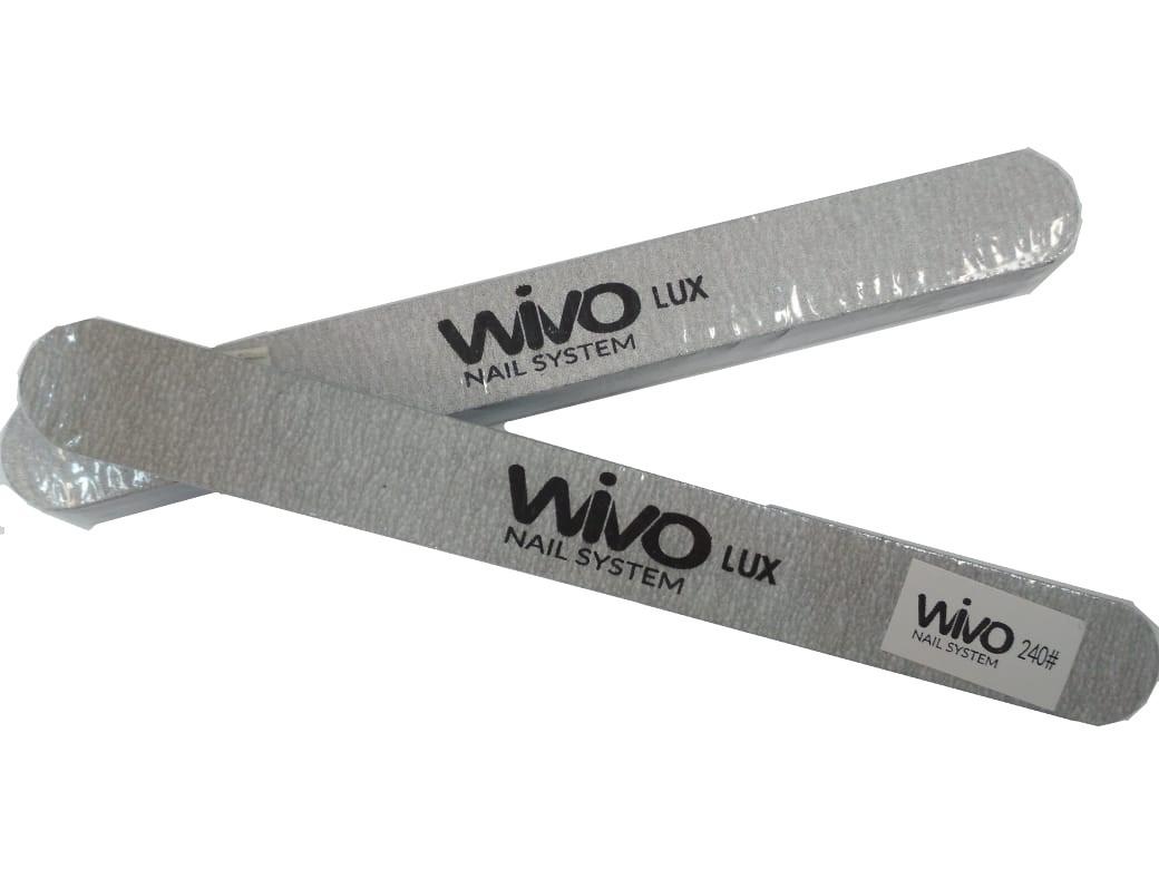 Сменные файлы-пилки WIVO на липкой основе 240 грит  (Зебра, Япония , 180х20мм., 25 шт.)