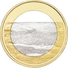 Ландшафты Палластунтури  5 евро Финляндия 2018