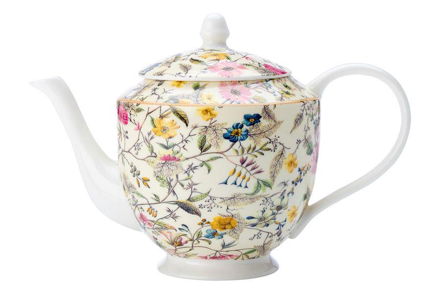 """Чайник """"Летние цветы"""", 1 л, подарочная упаковка"""