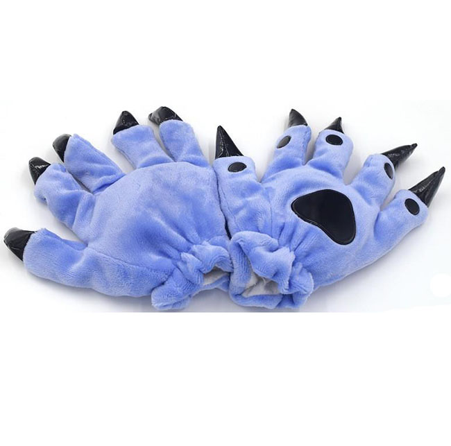 Перчатки Кигуруми Голубые