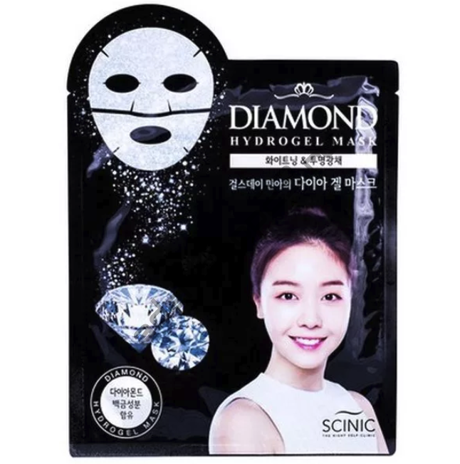 SCINIC - Гидрогелевая маска для лица с частицами драгоценных камней