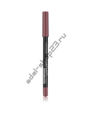 Catrice - Карандаш для губ Velvet Matt Lip Pencil Colour & Contour