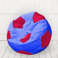 Кресло мяч Синий с красным