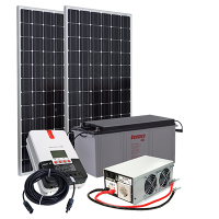 "Солнечная электростанция ""Холодильник на даче"" (1,5 кВт)"