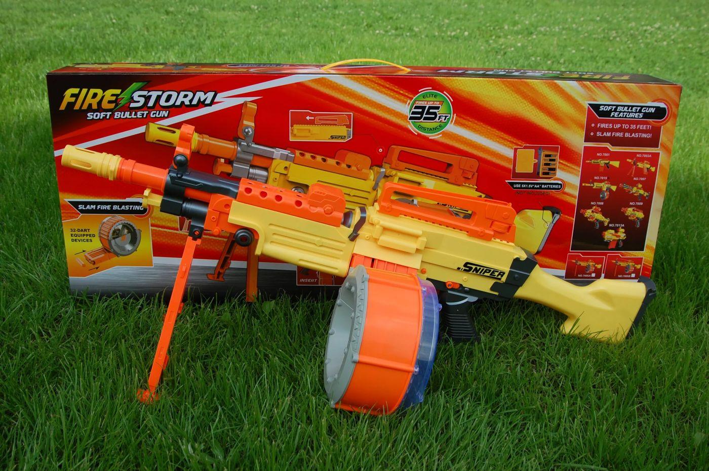 Автомат  пулемет с мягкими пулями Шторм (7005)