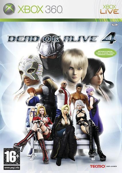Игра Dead or Alive 4 (Xbox 360)