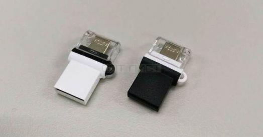 USB накопитель Smartbuy 8GB OTG POKO series Black