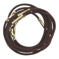 DEWAL Резинки для волос, коричневые, mini 10 шт/уп