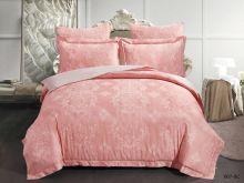 Комплект постельного белья Лен Soft cotton жаккард    2-спальный Арт.21/007-SC