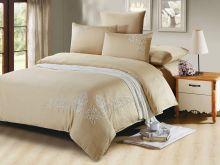 Комплект постельного белья Luxury modal  с вышивкой евро  Арт.31/002-МЕ