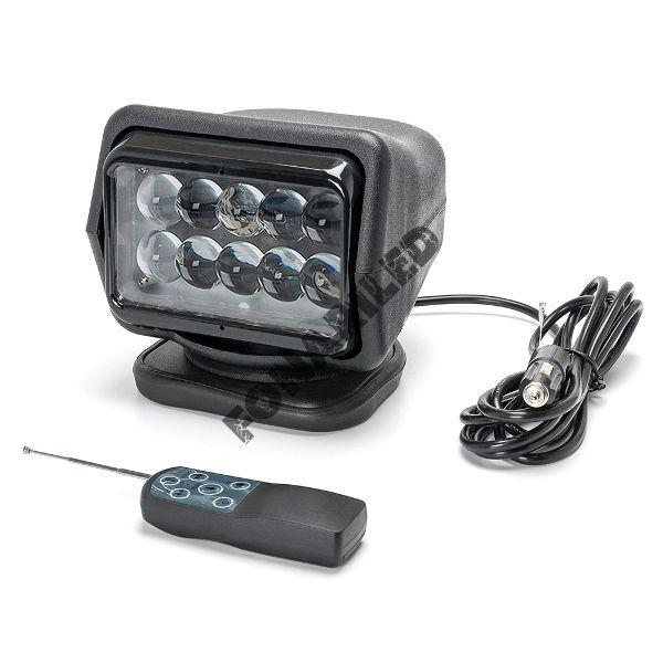 Черный фароискатель FI-MB4D-50W spot дальний направленный свет