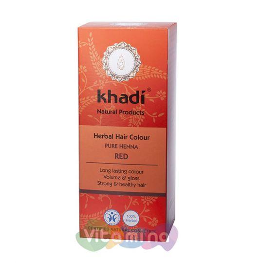 Khadi Растительная краска для волос «Хна красная», 100 г
