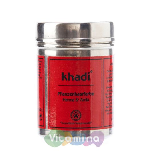 Khadi Растительная краска для волос «Хна и амла», 150 г