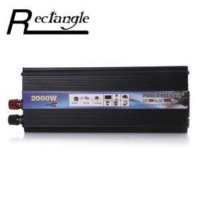 Автомобильный инвертор Rectangle 12В в 220В (1600 Ватт)