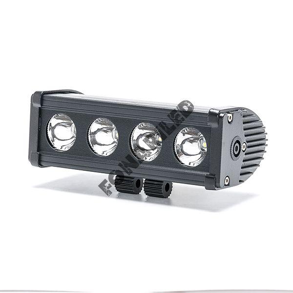 Однорядная светодиодная балка OC-40W spot дальний свет (длина 20 см, 8 дюймов)