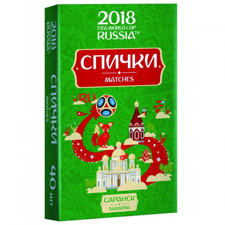 Спички для пикника  ЧМ-2018 Саранск