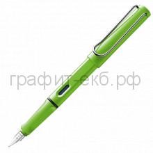 Ручка перьевая Lamy Safari зеленая F 013