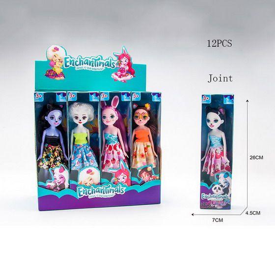 11683A Куклы Энчантималс 5 видов Enchantimals