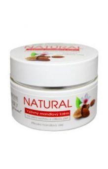 Натуральный питательный крем для лица Миндаль