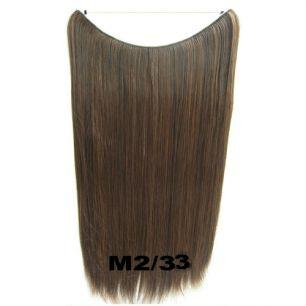 Искусственные термостойкие волосы на леске прямые №M002/033(60 см) - 100 гр.