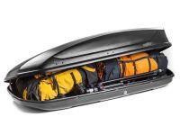 Автомобильный бокс на крышу Koffer A-440, 440 литров, черный матовый