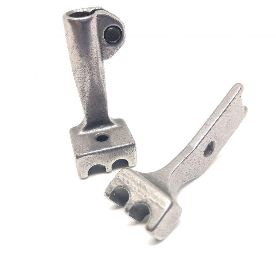 Комплект лапок 1/4 S83/S84 для вшивания двойного канта, для промышленных машин тройного продвижения