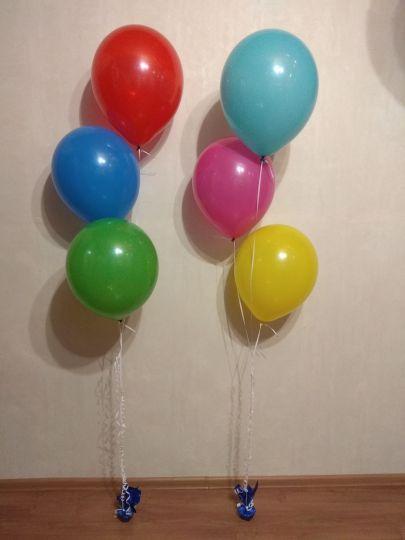 Фонтан из 3 шаров (настольный)