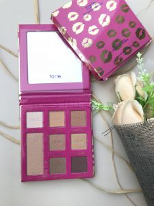 TARTE Палетка теней Leave your mark eyeshadow palette Губки