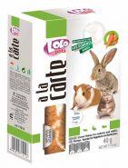 Lolo Pets a la Carte Хлопья морковные для грызунов и кроликов (40 г)
