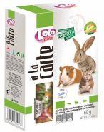 Lolo Pets a la Carte Палочки с овощами для грызунов и кроликов (60 г)