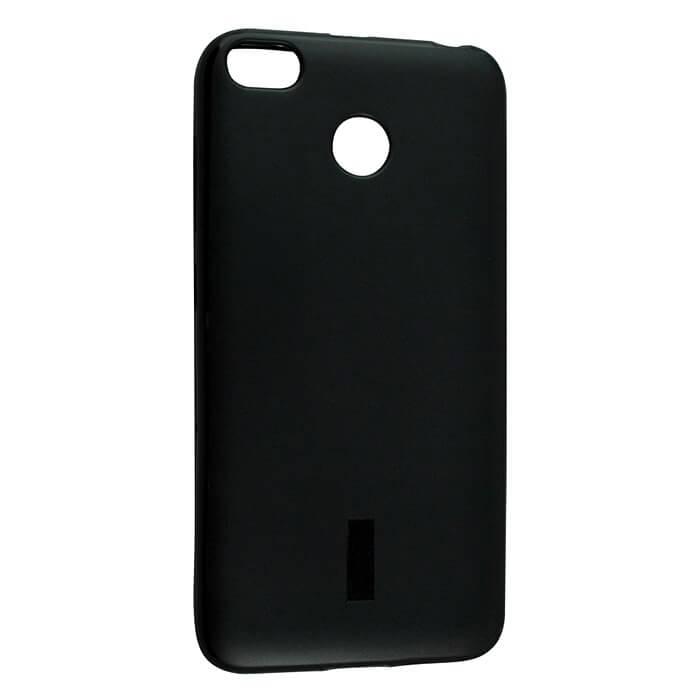 Силиконовый чехол для Xiaomi Redmi 4X, черный матовый