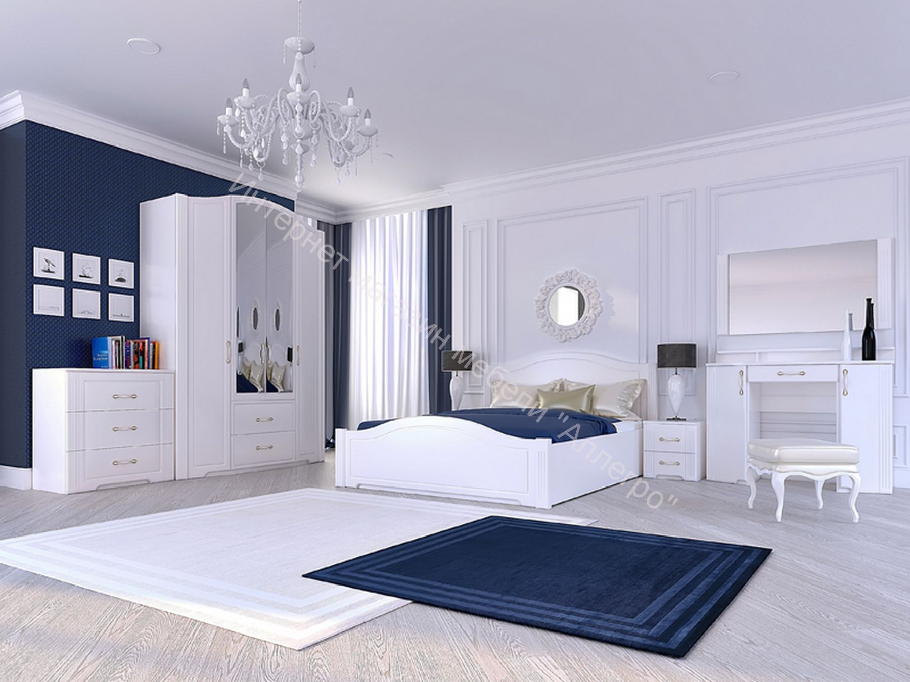 спальня виктория комп1 купить по выгодной цене в екатеринбурге