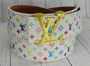 Ремень Louis Vuitton разноцветная монограмма