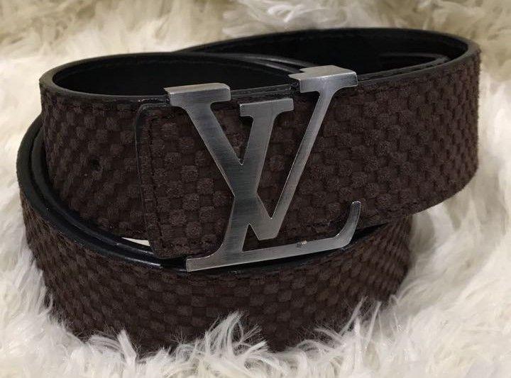 Замшевый ремень Louis Vuitton 95420