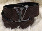 Замшевый ремень Louis Vuitton