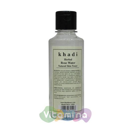 Khadi Розовая вода «Кади», 210 мл