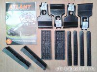 Адаптеры для багажника Mitsubishi Lancer 10 2007г-... hatchback, Mitsubishi Lancer 9 2008г-... sedan, Атлант, артикул 8616