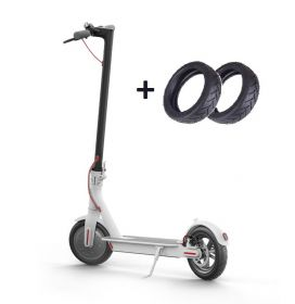Электросамокат Xiaomi MiJia Smart Electric Scooter М365 (белый) (international) +2 колеса