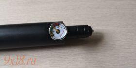 Резервуар  высокого давления ОБНОВЛЕННОГО ТИПА  для пневматической винтовки Крал Панчер Макси - Kral Puncher Maxi
