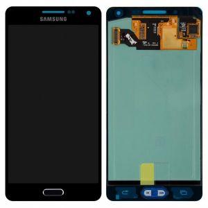 LCD (Дисплей) Samsung A500F Galaxy A5 (в сборе с тачскрином) (black) Оригинал