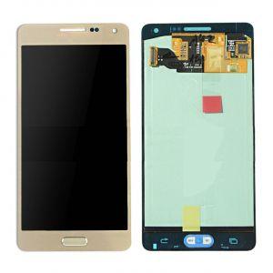 LCD (Дисплей) Samsung A500F Galaxy A5 (в сборе с тачскрином) (gold) Оригинал