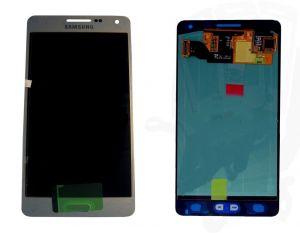 LCD (Дисплей) Samsung A500F Galaxy A5 (в сборе с тачскрином) (silver) Оригинал