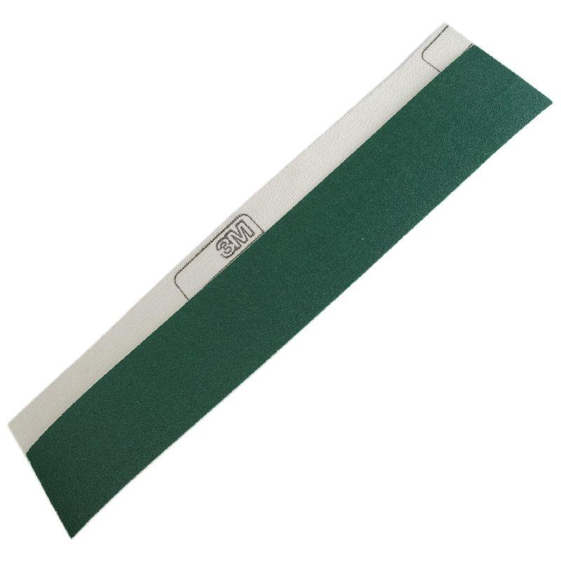 3М Полоска для длинных шлифков 245Р зеленая, Р40