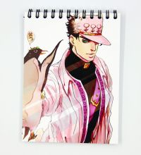 Мини Скетчбук по аниме Невероятное приключение ДжоДжо / JoJo's Bizarre Adventure sketchbook