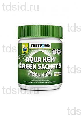 Порошок для биотуалета Aqua Kem Green Sachets
