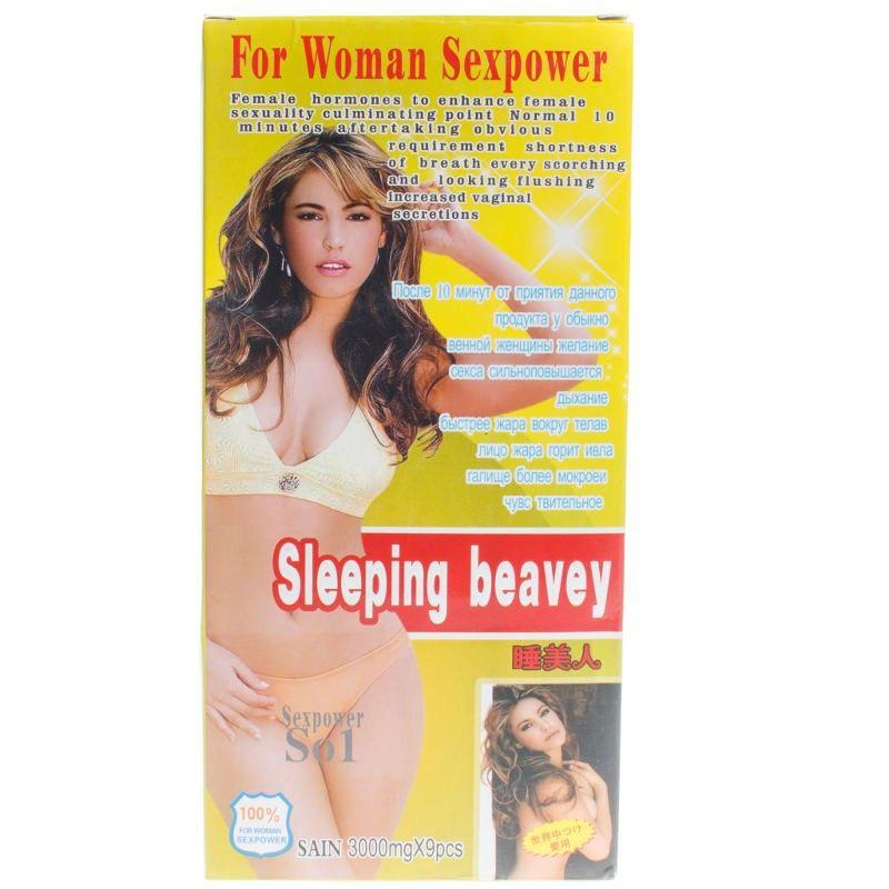 Sleeping beavey («Спящая красавица») мощный возбудитель женщин (1 фл.)