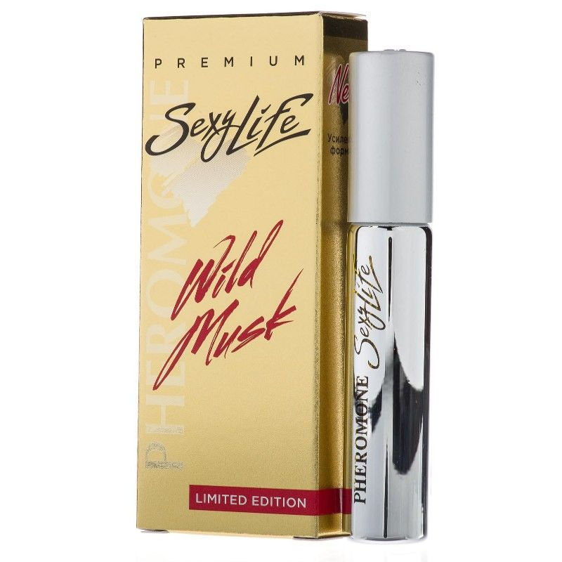 Sexy Life Wild Musk №2 Eros Versace духи с феромонами для мужчин (флакон 10 мл)
